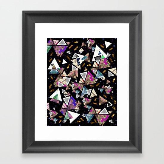 GALAXY ATAXIA Framed Art Print