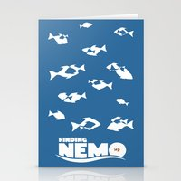 finding nemo Stationery Cards featuring Finding Nemo by Citron Vert