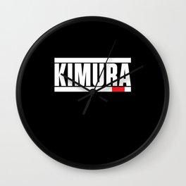 Brazilian Jiu-Jitsu Kimura BJJ Wall Clock