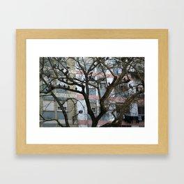 Urban Condos Framed Art Print
