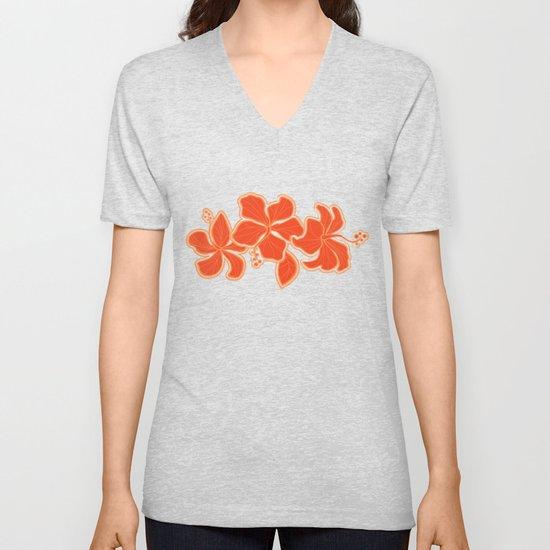 Kailua Hibiscus Hawaiian Sketchy Floral Design by driveindustries