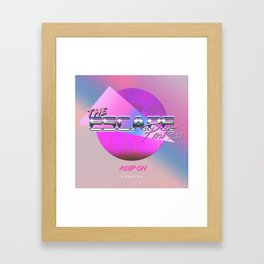 The Escape Part 1.111: Keep on Running Framed Art Print
