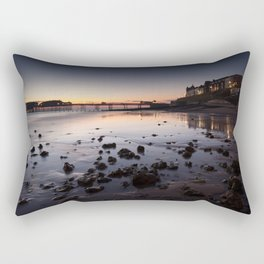 Cromer Beach at Dawn Rectangular Pillow
