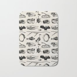 Animal Bones Bath Mat