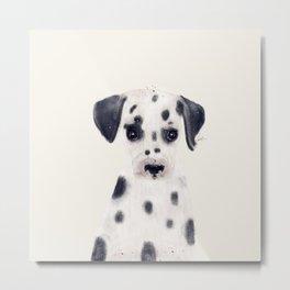 little dalmatian Metal Print