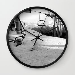 Scenic route equipment Wall Clock