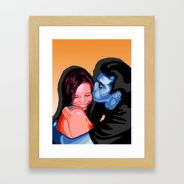Kiss Framed Art Print