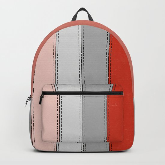 Red lines Backpack