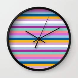 Strips Wall Clock