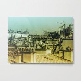 Haute Vue Paris / Chimneys Metal Print