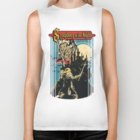 castlevania Biker Tanks featuring Symphony of the night by MeleeNinja