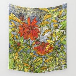 Wild Garden Wall Tapestry