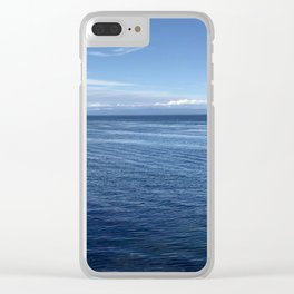 TRANQUILITY: Oceans Clear iPhone Case