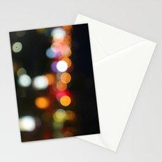 City Bokeh Stationery Cards