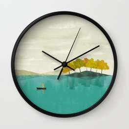 LIVE IN DIFFERENT WORLDS Wall Clock