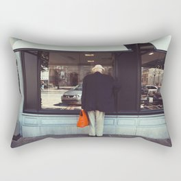 Afternoon in Bruges Rectangular Pillow