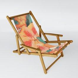 Aloha Orange Sherbet Sling Chair