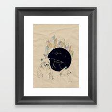 big bear, little bear Framed Art Print