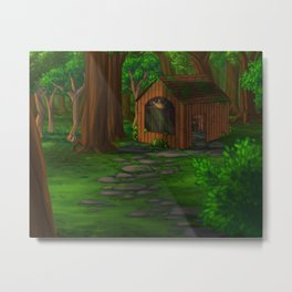 The Witch's House Metal Print