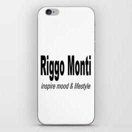 Riggo Monti Design #6 - Inspire Mood & Lifestyle (Key Phrase) iPhone Skin