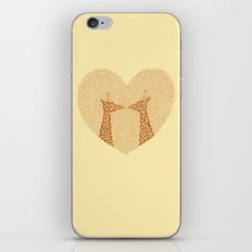 Giraffes in Love iPhone & iPod Skin