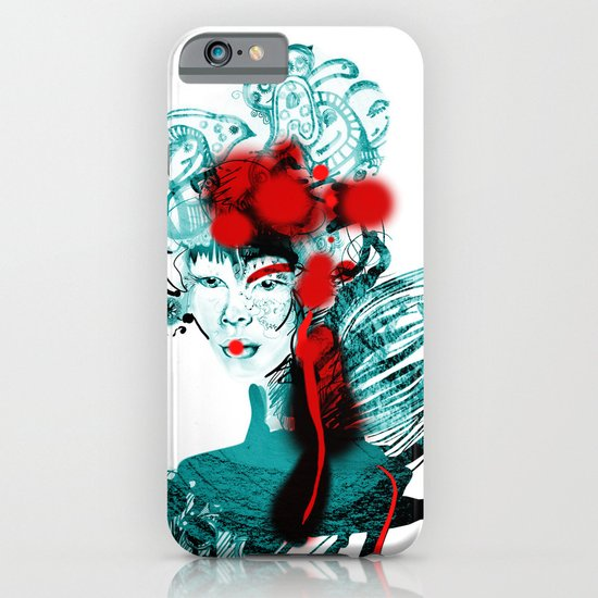 Japanese Girl iPhone & iPod Case