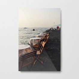Sorrento Date Night  Metal Print