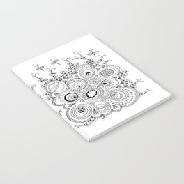 Dragonfly doodle Notebook
