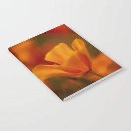 California Golden Poppy Notebook