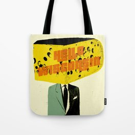 Hello Wisconsin Tote Bag
