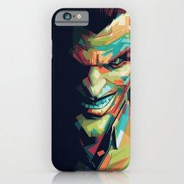 Joker Pop Art Portrait iPhone Case