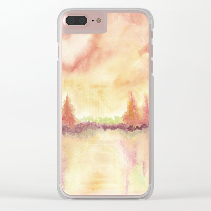 A 0 8 Clear iPhone Case