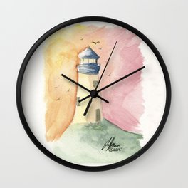 Lighthouse Impressions III Wall Clock