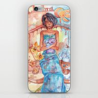 libra iPhone & iPod Skins featuring Libra by Trenita