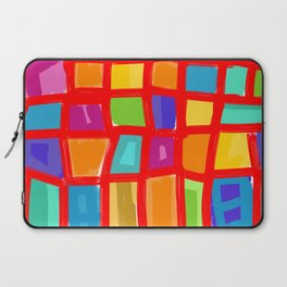 Colorful Grid Laptop Sleeve