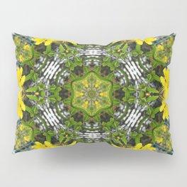 Kaleidoscope of showy St Johns Wort Pillow Sham