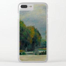 "Pierre-Auguste Renoir ""Versailles"" Clear iPhone Case"
