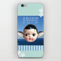 glee iPhone & iPod Skins featuring ocean glee  by Kelli May-Krenz