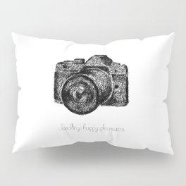 Camera Doodle Pillow Sham