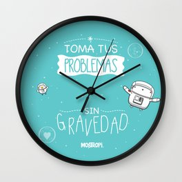 Gravedad Wall Clock