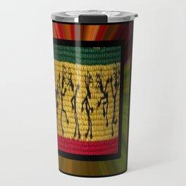 lively up reggae dancers (square) Travel Mug