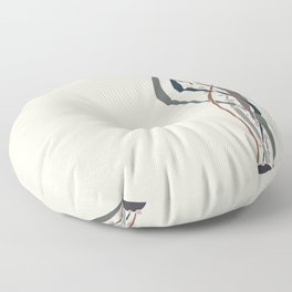 Conduits Earth Floor Pillow