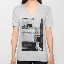 Destroyed - B/W Unisex V-Neck