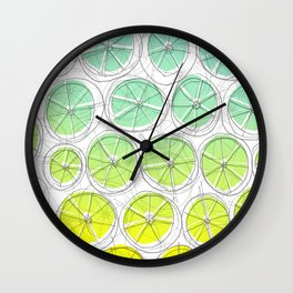 Blou Lemonade Wall Clock
