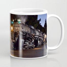 UP 4014. Union Pacific.  Steam Train Locomotive. Big Boy. © J. Montague. Coffee Mug