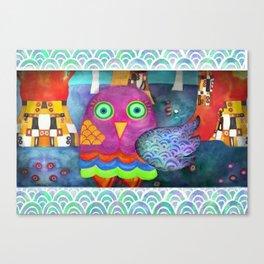 Klimty Forest Canvas Print