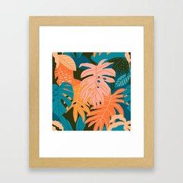 Plant Aloha Framed Art Print