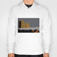 scotland Hoodies featuring Scotland Winter by dacarrie