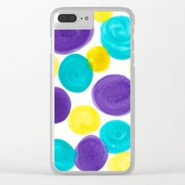 Just Dotty Clear iPhone Case