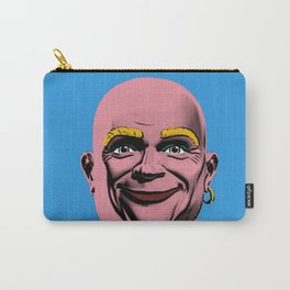 Mr Clean Pop Art on Blue Background Carry-All Pouch